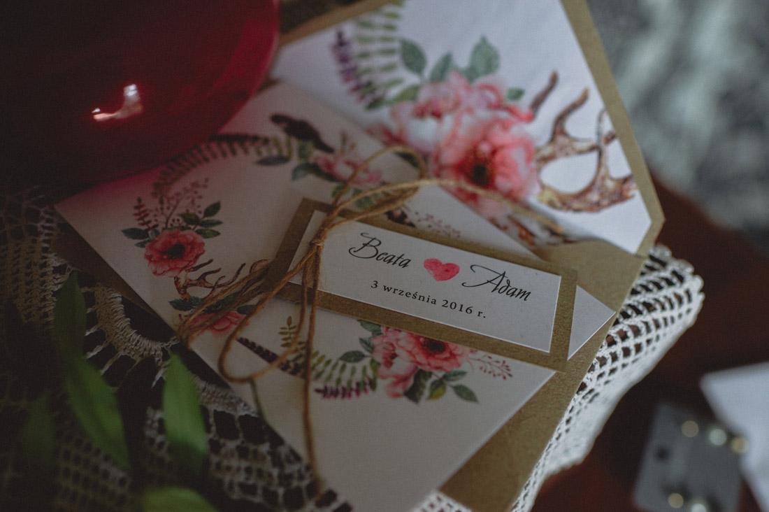 wyjątkowe zaproszenia ślubne