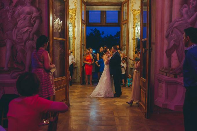ślub w zamku