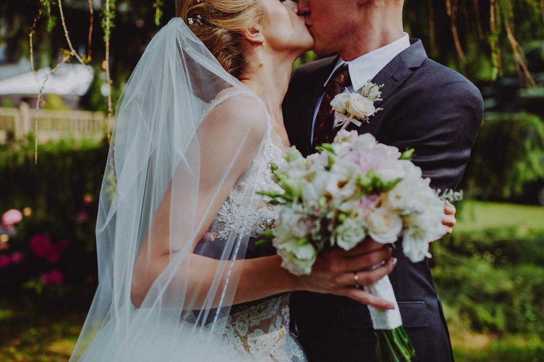 krótki plener w dniu ślubu