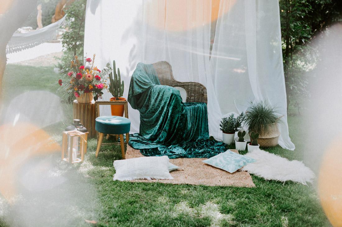 przyjęcie ślubne weselne w ogrodzie