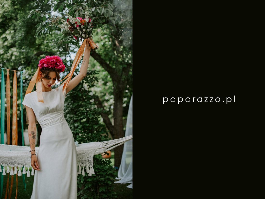 przyjęcie ślubne weselne w ogrodzie Warszawa