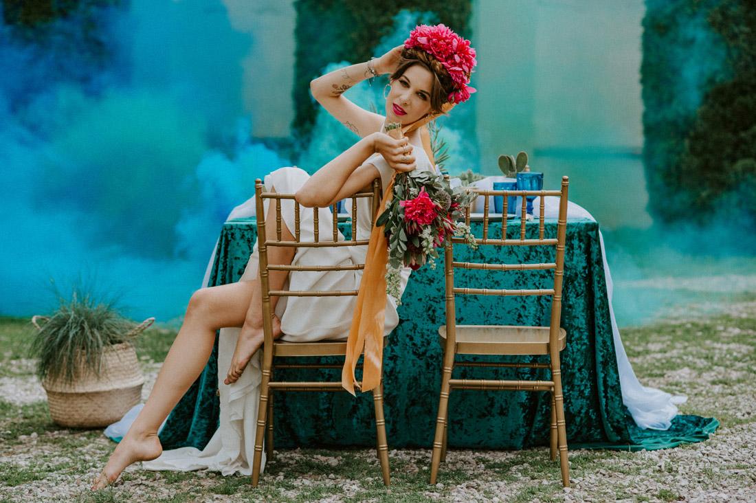 przyjęcie ślubne weselne w ogrodzie w plenerze Warszawa