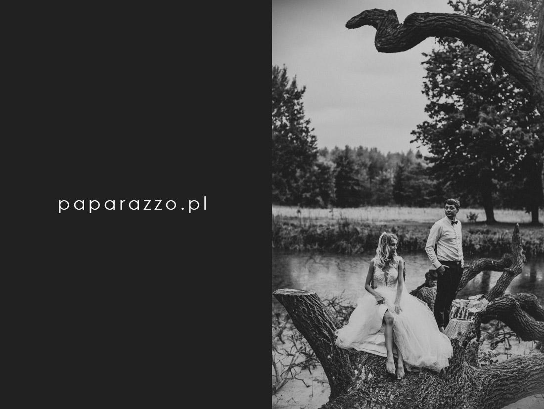 fotografia ślubna Pałac Pstrokonie
