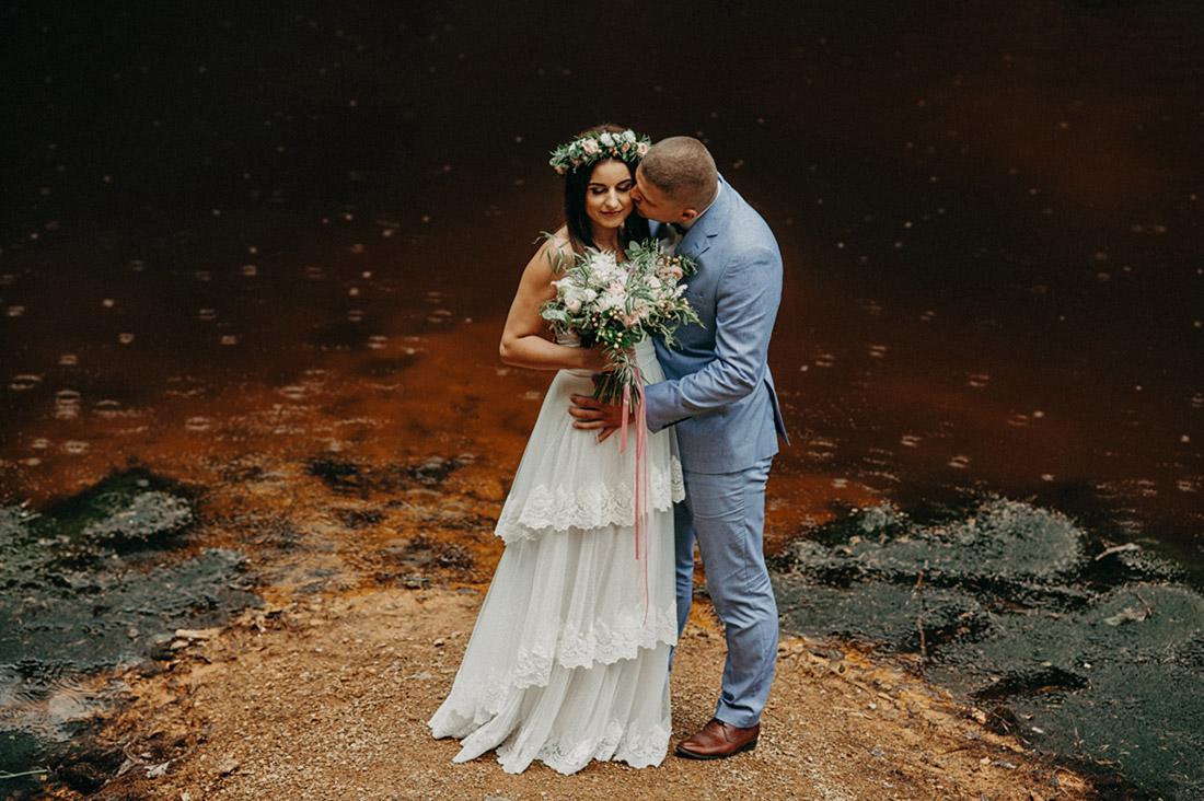 sesja ślubna Kolorowe Jeziorka