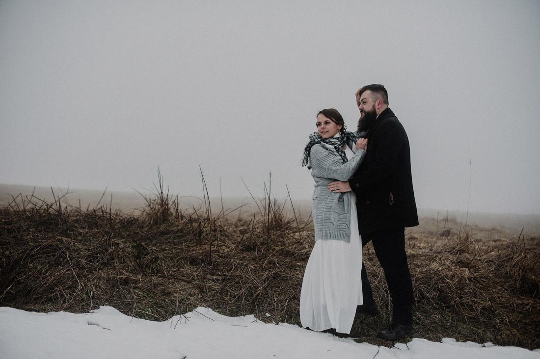 zimowe zdjęcia śubne