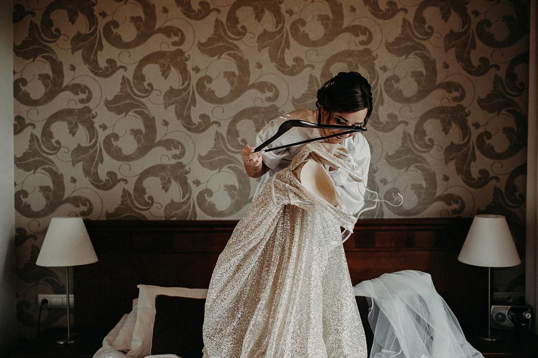 przygotowania ślubne w hotelu