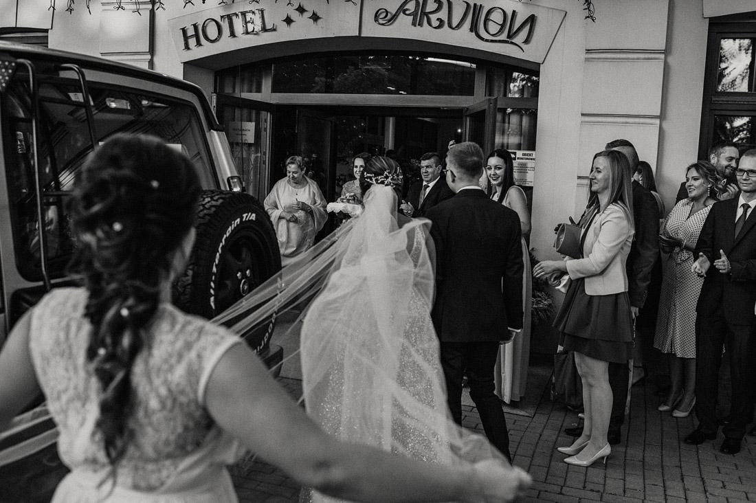 wesele w hotelu Akvilon